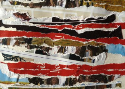 Torn Paper Collage 3